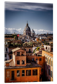 Acrylglas print  Over the roofs of Rome, Italy - Sören Bartosch