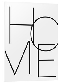 PVC print  Home - thuis - Finlay and Noa