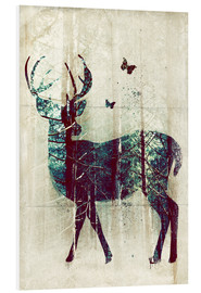 PVC print  Deer in the Wild - Sybille Sterk