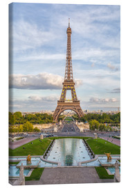 Canvas print  Eiffel Tower and Europe - Roberto Sysa Moiola