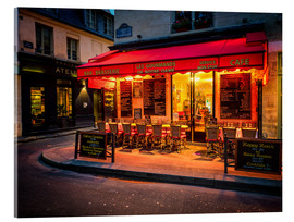 Acrylglas print  Parisian cafe, Paris, France, Europe - Jim Nix