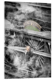 Acrylglas print  The Flying Scotsman steam-train - John Potter