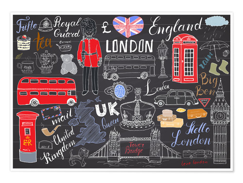 Premium poster London at a glance