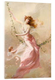 Acrylglas print  The swing - Edouard Bisson