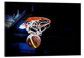 Acrylglas print  Basketball game