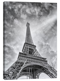 Canvas print  Radiant Eiffel Tower