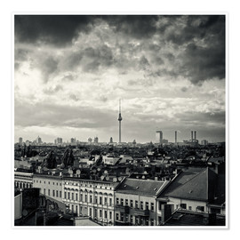 Premium poster Berlin - Roofscape