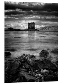 Acrylglas print  Castle Stalker, Scotland - Martina Cross