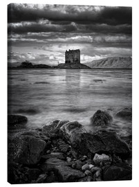 Canvas print  Castle Stalker, Scotland - Martina Cross