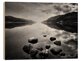 Hout print  Loch Ness, Scotland - Martina Cross