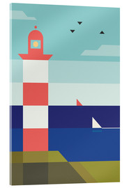 Acrylglas print  Lighthouse - Antony Squizzato