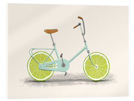 Acrylglas print  Lime Bike - Florent Bodart