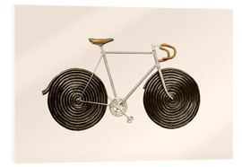 Acrylglas print  Licorice Bike - Florent Bodart