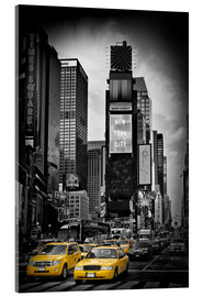 Acrylglas print  NEW YORK CITY Times Square - Melanie Viola