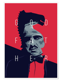Premium poster  Godfather - Fourteenlab