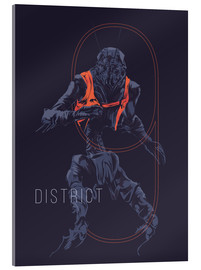 Acrylglas print  District 9 - Fourteenlab