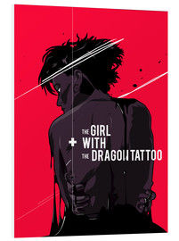 PVC print  The Girl with The Dragon Tattoo - Fourteenlab