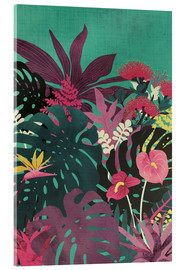 Acrylglas print  Tropical tendencies - littleclyde