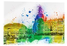 Acrylglas print  The Frauenkirche in Dresden - Peter Roder