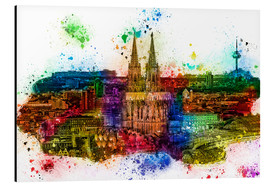 Aluminium print  Cologne Skyline Cologne Cathedral - Peter Roder