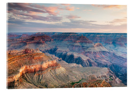 Acrylglas print  Sunset over the Grand Canyon south rim, USA - Matteo Colombo