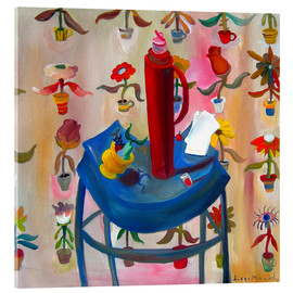Acrylglas print  The red thermos - Diego Manuel Rodriguez