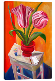 Canvas print  Great tulips - Diego Manuel Rodriguez