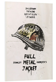 PVC print  Full Metal Jacket - 2ToastDesign