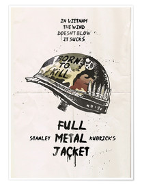 Premium poster  Full Metal Jacket - 2ToastDesign