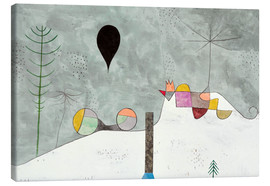 Canvas print  Winter picture - Paul Klee