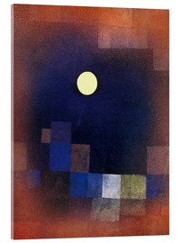 Acrylglas print  Moonrise - Paul Klee
