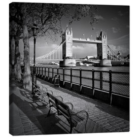 Canvas print  LONDON Tower Bridge - Melanie Viola