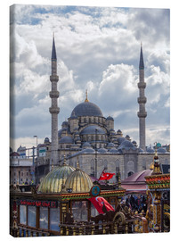 Canvas print  A mosque in Istanbul