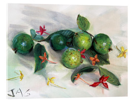 Acrylglas print  guavas and ixora2 - Jonathan Guy-Gladding