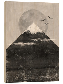 Hout print  Zenith - Tracie Andrews