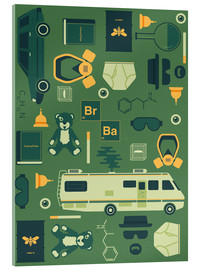 Acrylglas print  Breaking Bad - Tracie Andrews