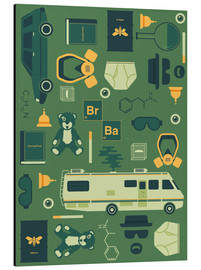 Aluminium print  Breaking Bad - Tracie Andrews