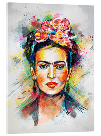 Acrylglas print  Frida Flower Pop - Tracie Andrews