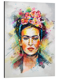 Aluminium print  Frida Flower Pop - Tracie Andrews