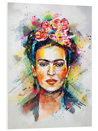 PVC print  Frida Flower Pop - Tracie Andrews