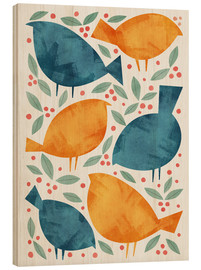 Hout print  Birds - Tracie Andrews