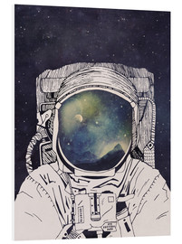 PVC print  Dreaming of Space - Tracie Andrews