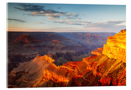 Acrylglas print  Sunset on Grand Canyon South Rim, USA - Matteo Colombo