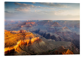 Acrylglas print  Sunrise of Grand Canyon South Rim, USA - Matteo Colombo
