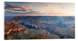 Acrylglas print  Panoramic sunrise of Grand Canyon, Arizona, USA - Matteo Colombo