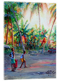 Acrylglas print  Labatwi cricket I - Jonathan Guy-Gladding