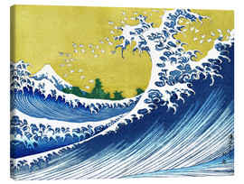 Canvas print  Fuji at Sea (Kaijo no Fuji) - Katsushika Hokusai