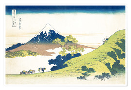 Premium poster The Inume Pass in Kai Province