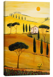 Canvas print  Colored Tuscany - Christine Huwer