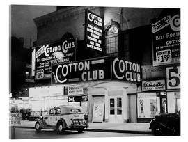 Acrylglas print  Cotton Club in Harlem, New York